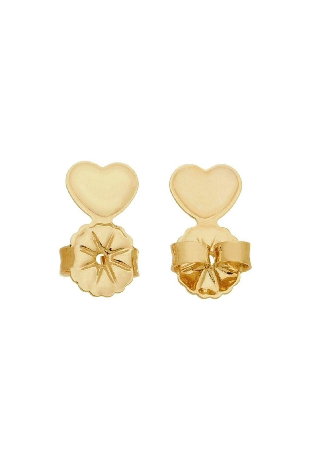 Tarraxa Le Diamond Coração Dourada