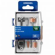 Kit Acessórios Dremel para Metal com 16 Peças 26150734AB