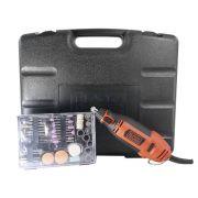 Micro Retífica 180W Com Maleta e 113 Acessórios Black + Decker - RT18KA 127V