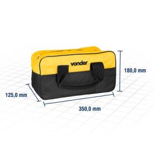 Bolsa em lona para ferramentas BL 005 Vonder Amarelo/Preto