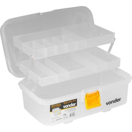 Caixa Plastica Cpv 0350 Com 2 Bandejas Vonder