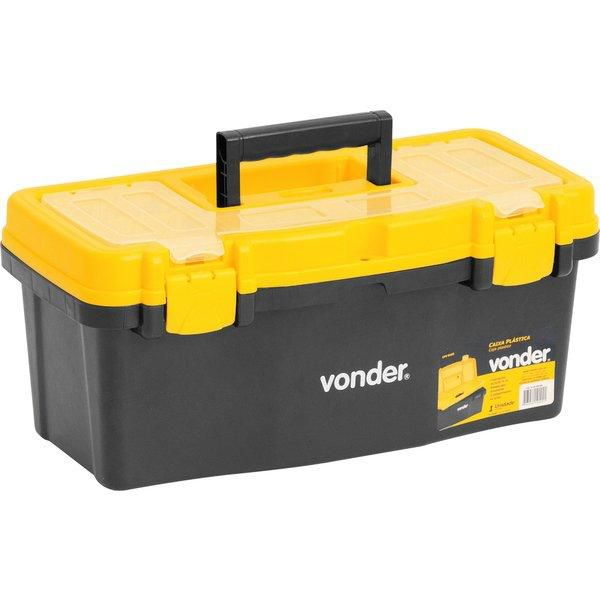 Caixa Plástica Para Ferramenta / Multiuso11kg Cpv 0405 Vonder 6105405000