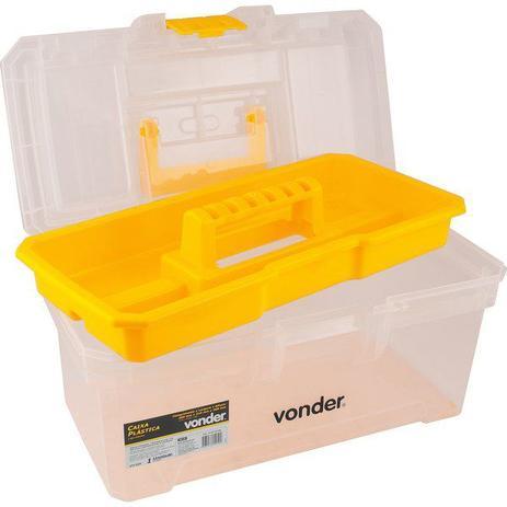 Caixa Plastica Transparente Cpv 0330 Vonder