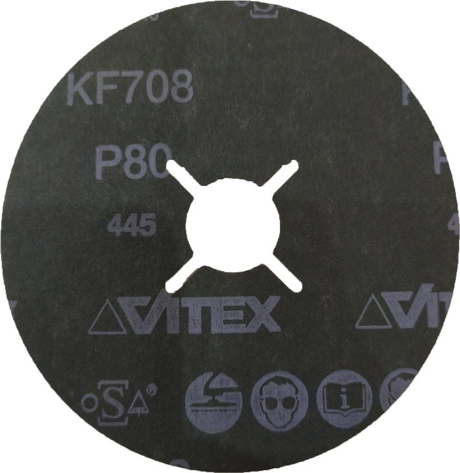 Disco de Lixa 115x22 4.1/2 pol G80 KF708 Pferd