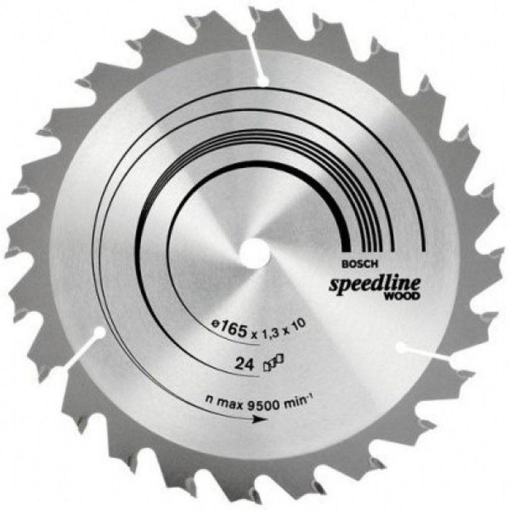 Disco Serra Circular Vidia 184x20 24 Dentes Bosch 2608640852