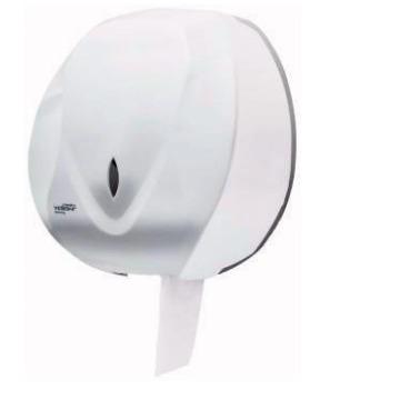 Dispenser Porta Papel Higiênico Rolão Branco Velox Premisse