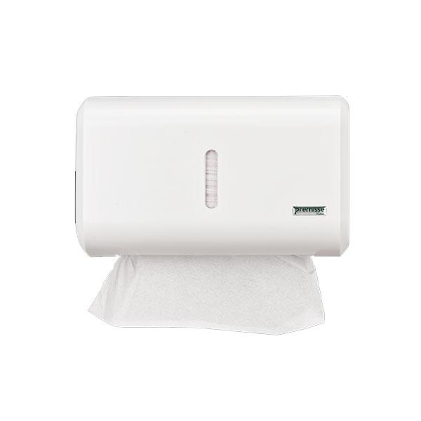 Dispenser Toalheiro Compacto Branco Urban Premisse