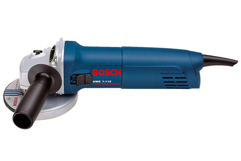 """Esmerilhadeira Bosch 4 1/2"""" 720w GWS 7-115 220v"""