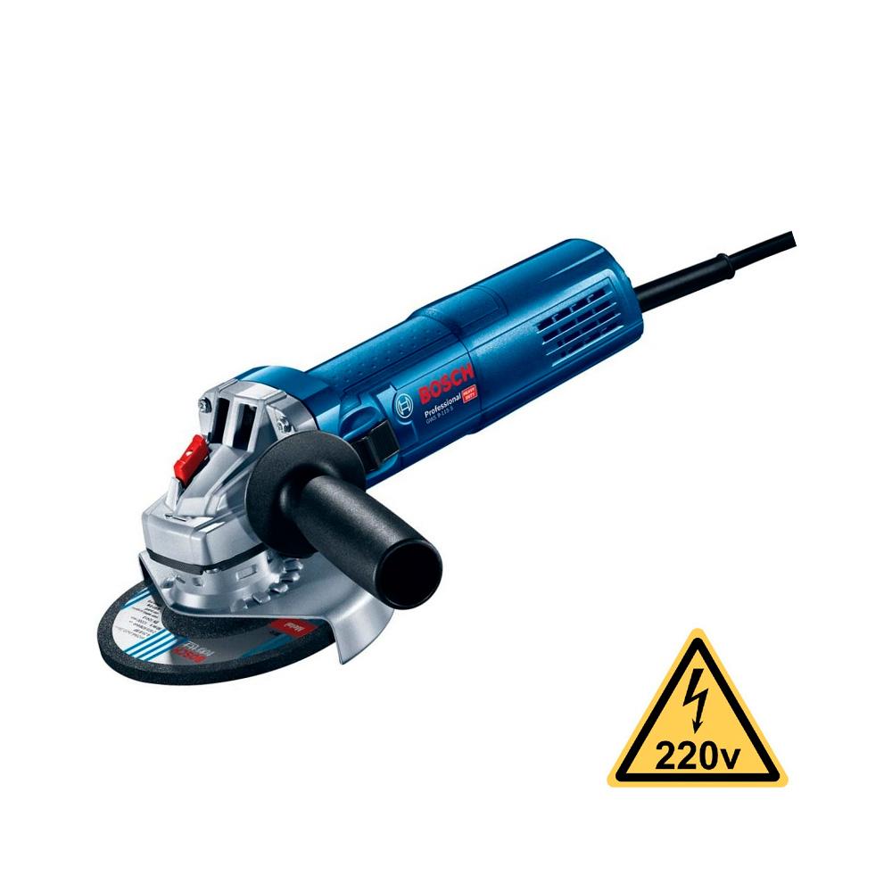 """Esmerilhadeira Bosch 5"""" GWS 9-125 220V"""
