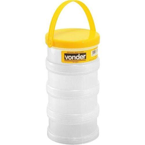 Estojo Plástico Multiuso com 4 partes Vonder VD4003 6107400300