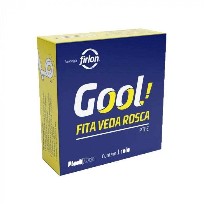 Fita Teflon Veda Rosca 18mmx50m Gool