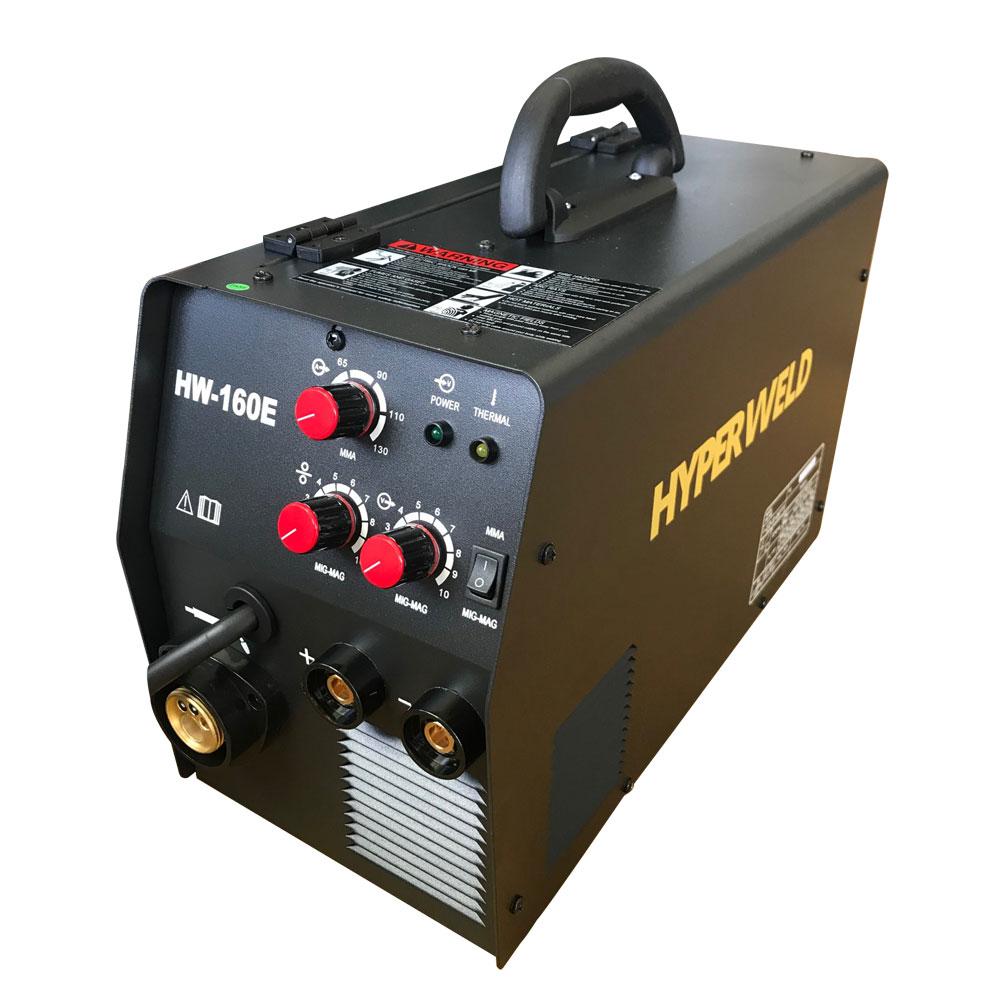 Fonte Inversora Hw-160E Monofasica 220v 60Hz Hyperweld