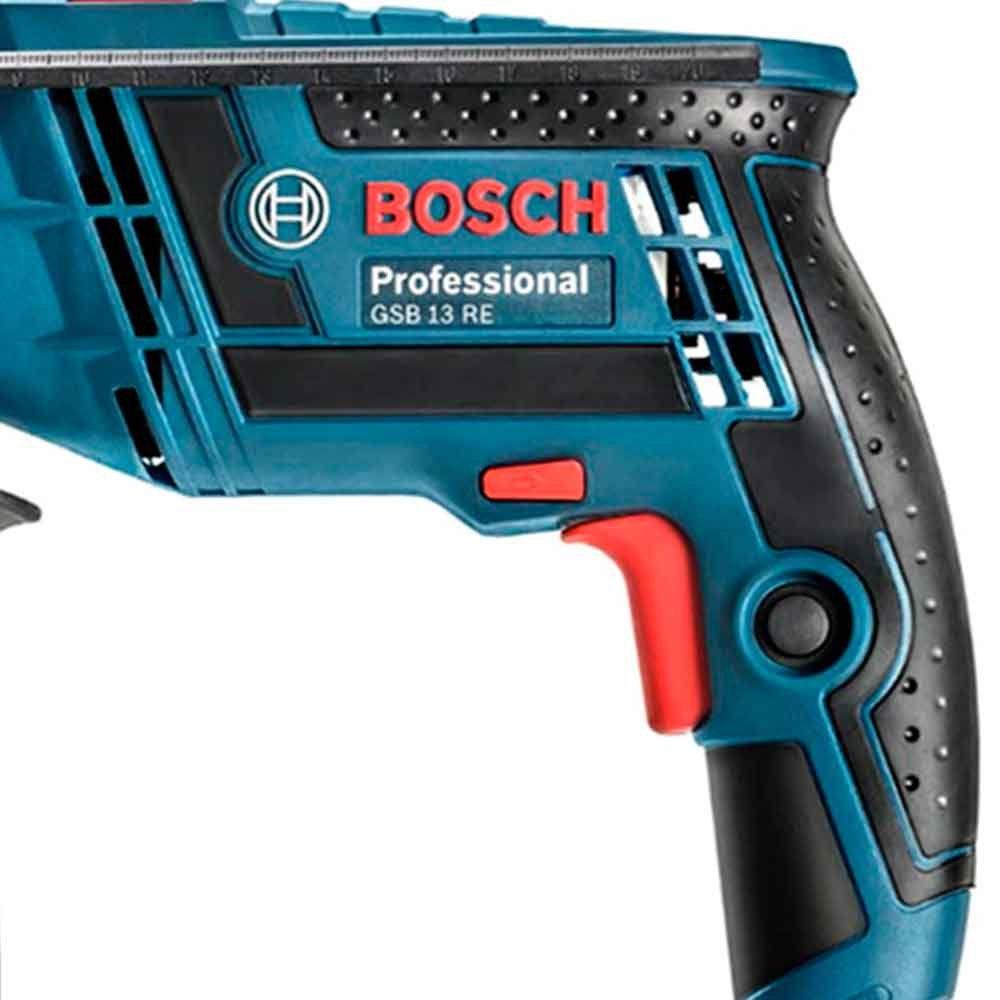 """Furadeira 1/2"""" com Impacto 650w GSB 13 RE 220v Bosch"""