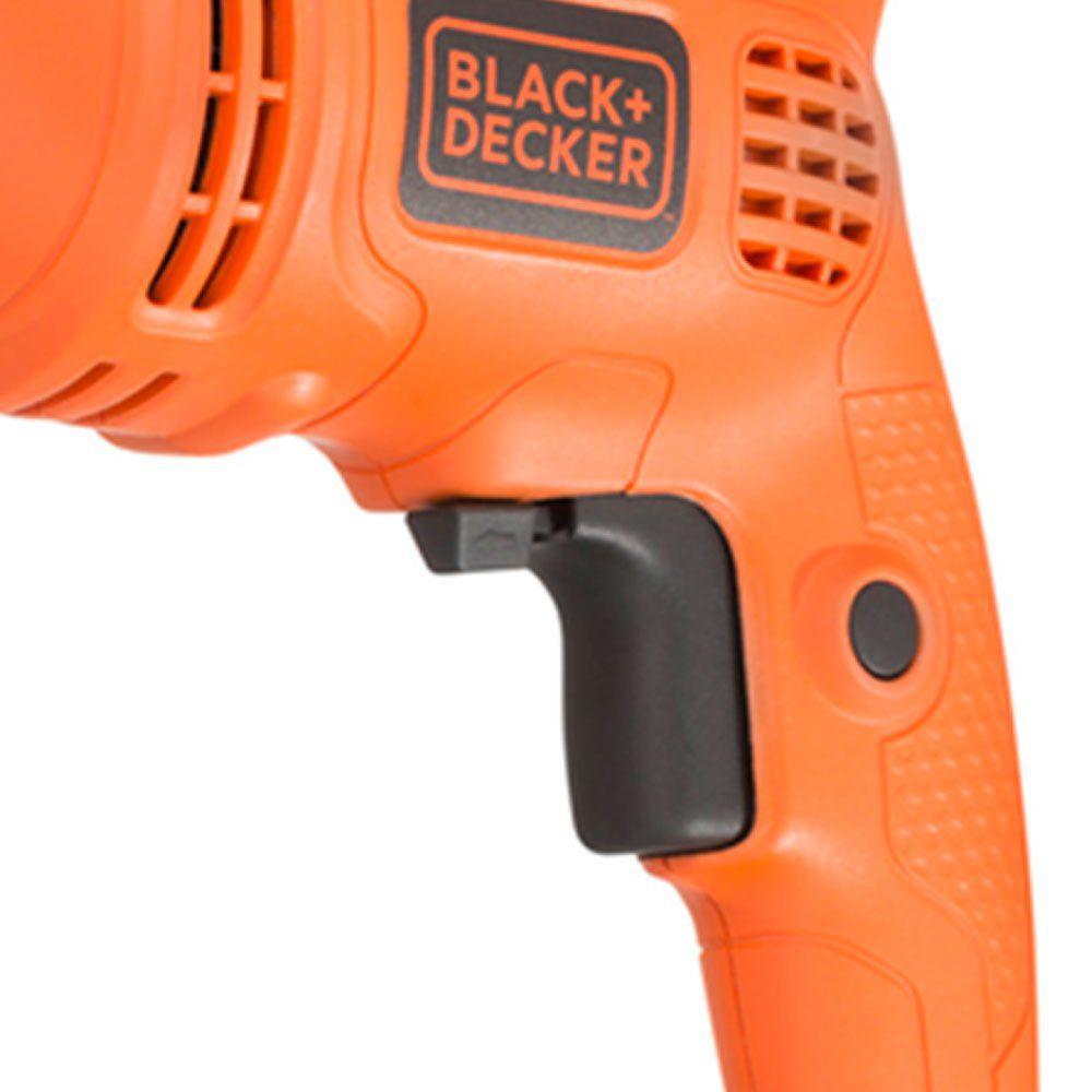 "Furadeira de Impacto 1/2"" 560w 127v C/ Maleta Black Decker Tm555kbr"