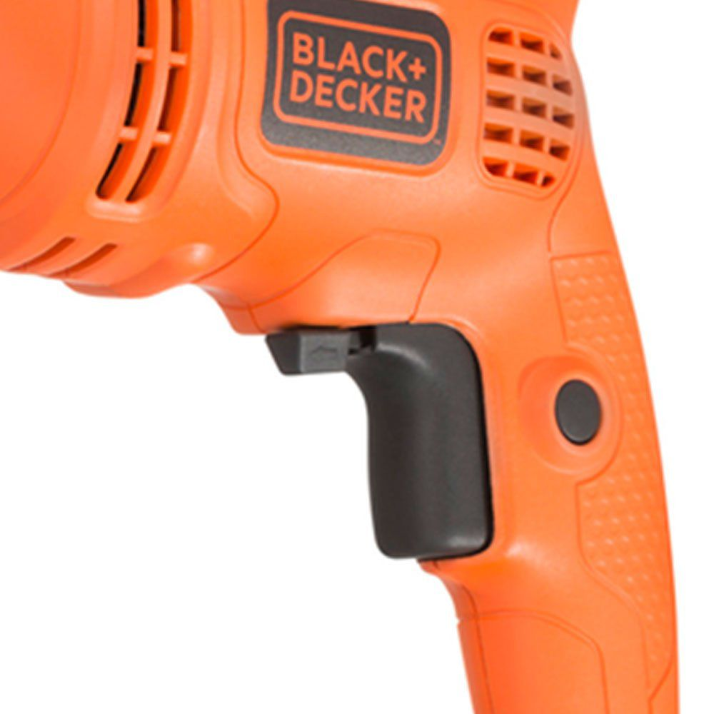"""Furadeira De Impacto 1/2"""" 560w VVR 127v Black Decker Tm555br"""