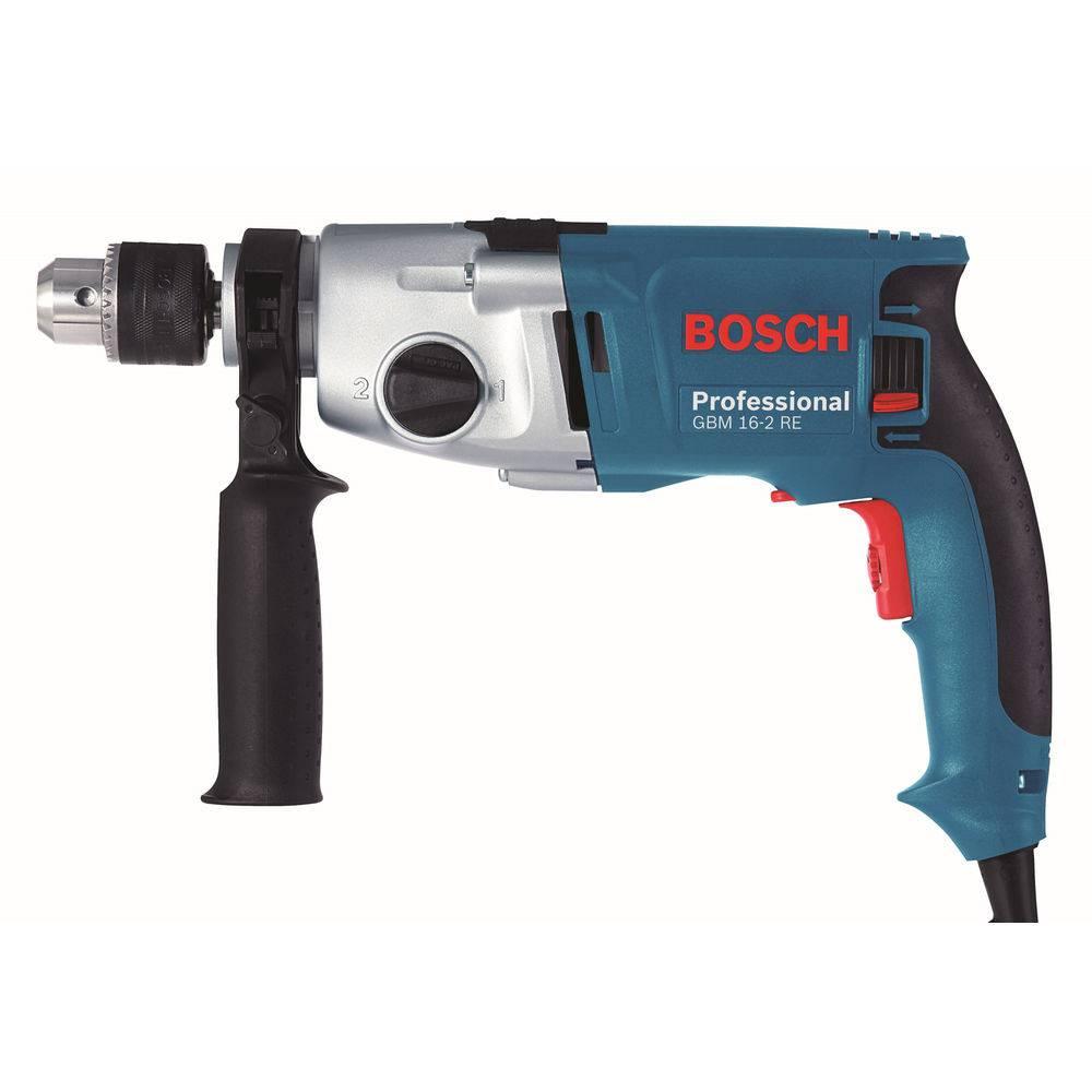 "Furadeira GBM 16-2 Re S/ Impacto Vvr 1/2"" 800w 220v Bosch"