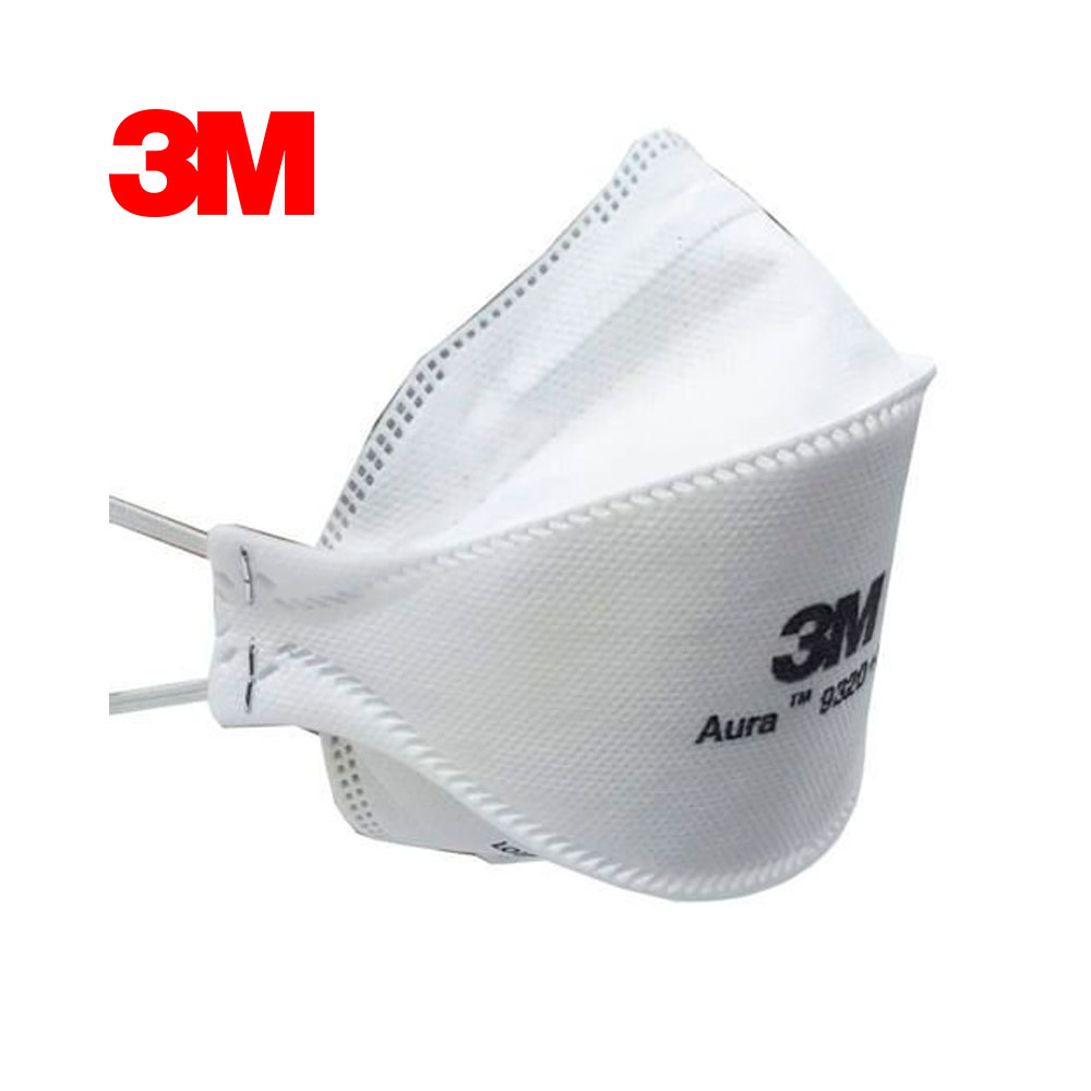 Kit 10 Respiradores 3M Aura 9320+BR PFF-2 S/ Válvula CA 30592