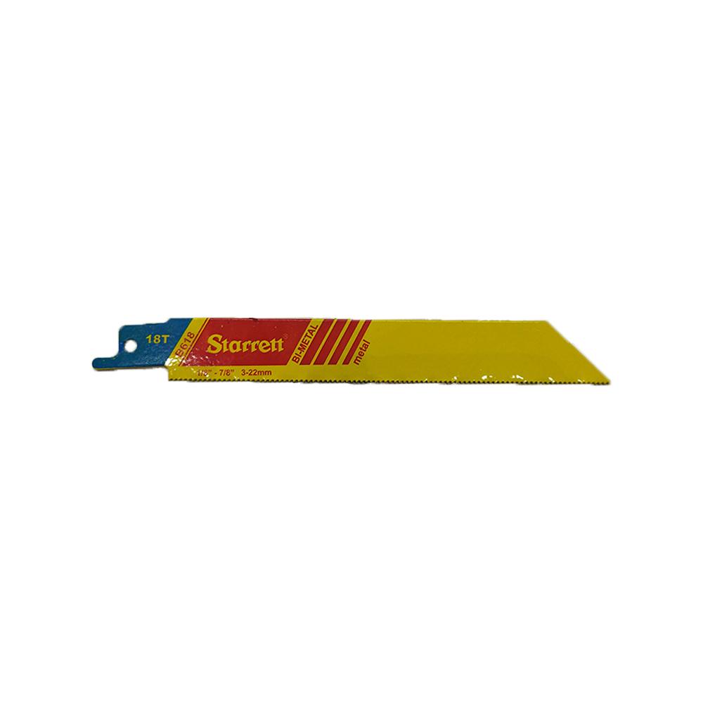 Lamina Serra Sabre Bi-Metal Fastcut B618 Starrett
