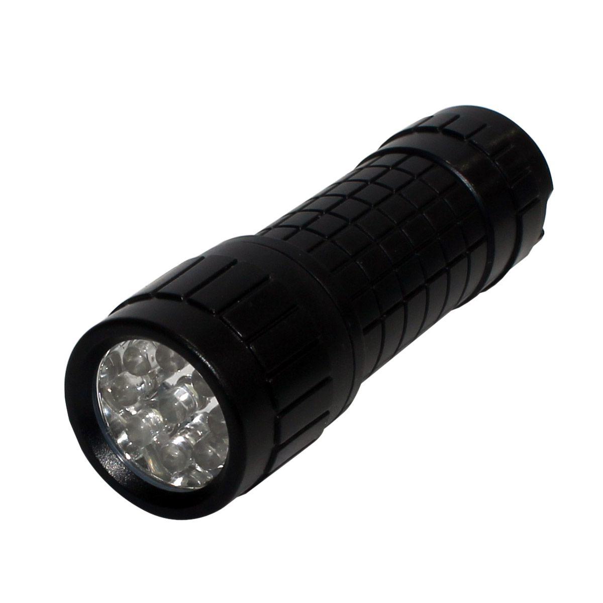 Lanterna 3 Pilhas AAA 9 Leds Rayovac Preto