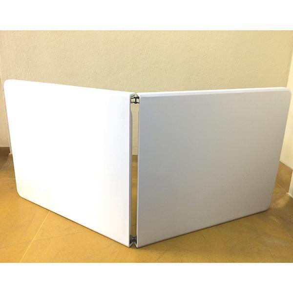 Mesa Dobrável Branca 183cm X 74cm X 76cm Guardião 200kg