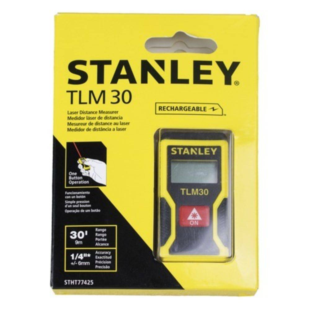 Mini Trena Laser 9m Stanley TLM30 Stht77425