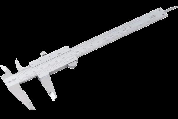 Paquímetro Universal 150mm X 6 Pa155 Vonder 3527150005