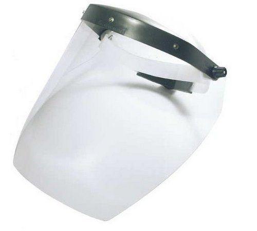 Protetor Facial Carbografite Incolor 8 Pol S/ Catraca CA 11442