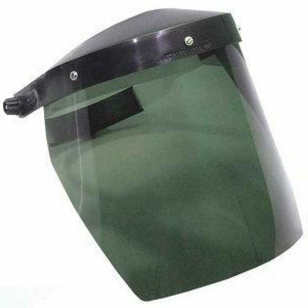 """Protetor Facial Verde 8"""" C/ Catraca Carbografite CA 1144"""