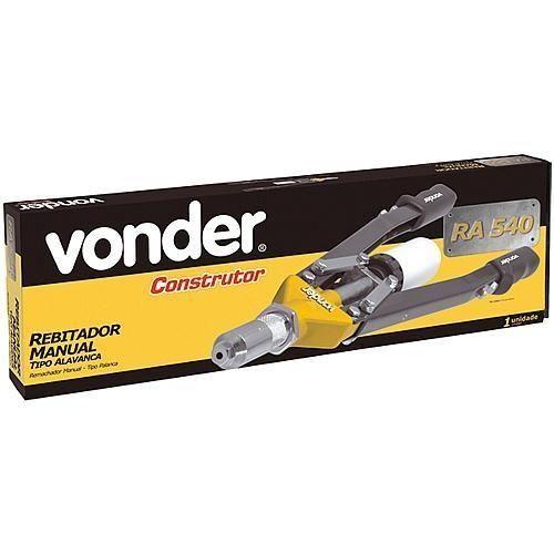 Rebitador Manual Tipo Alavanca Ra 540 Vonder Construtor