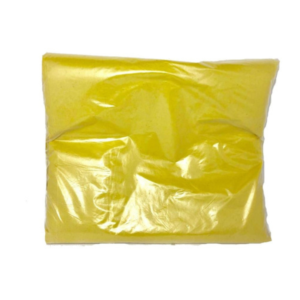 Saco de Lixo 200 Litros Amarelo M5 Reforçado 100un Plast Veneza