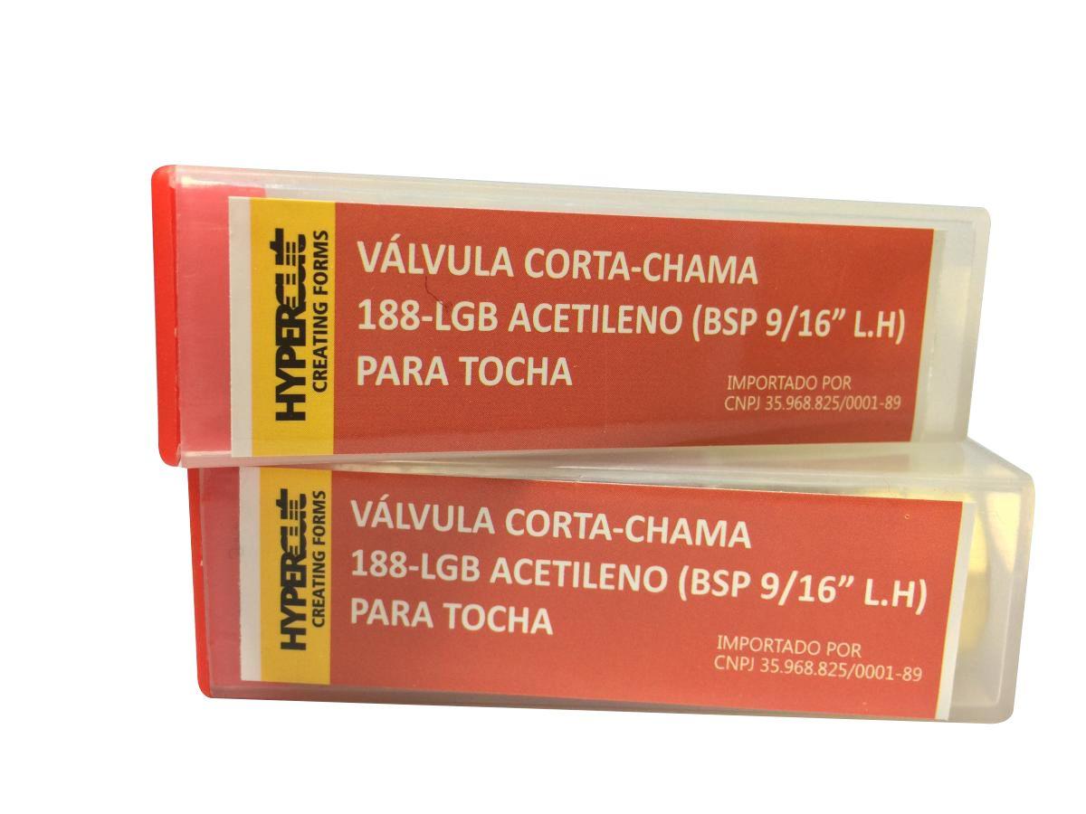 Valvula Seca Corta-Chama Fa-01b Acetileno Para Macarico Hypercut