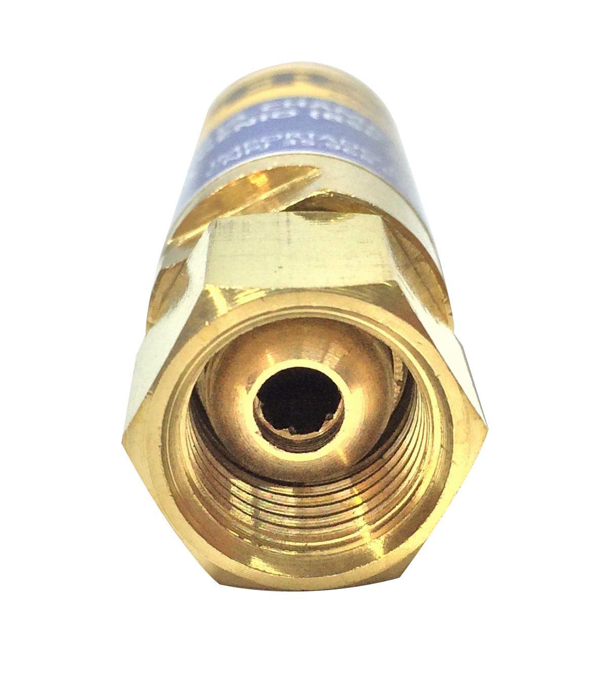 Valvula Seca Corta-Chama Fa-01b Oxigenio Para Macarico Hypercut
