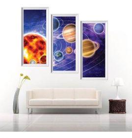 Painel Adesivo Parede Astronomia Planetas Mod2