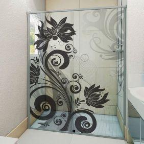 Adesivo Box Banheiro 3d Sob Medida - Mod 101