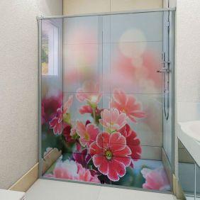 Adesivo Box Banheiro 3d Sob Medida - Mod 104
