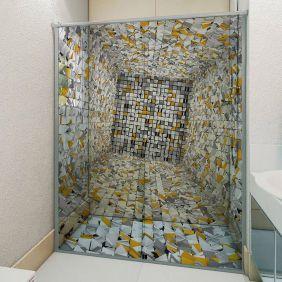 Adesivo Box Banheiro 3d Sob Medida - Mod 147
