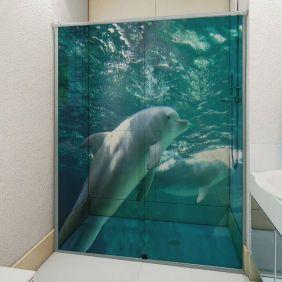 Adesivo Box Banheiro 3d Sob Medida - Mod 15