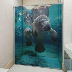 Adesivo Box Banheiro 3d Sob Medida - Mod 16