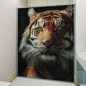 Adesivo Box Banheiro 3d Sob Medida - Mod 196