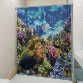 Adesivo Box Banheiro 3d Sob Medida - Mod 200