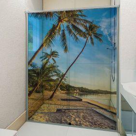 Adesivo Box Banheiro 3d Sob Medida - Mod 206