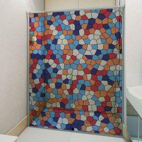 Adesivo Box Banheiro 3d Sob Medida - Mod 214