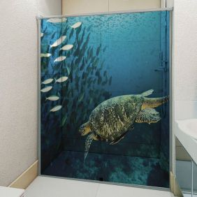 Adesivo Box Banheiro 3d Sob Medida - Mod 22