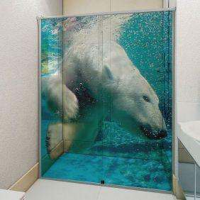 Adesivo Box Banheiro 3d Sob Medida - Mod 30