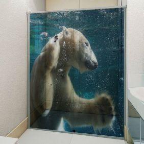 Adesivo Box Banheiro 3d Sob Medida - Mod 31