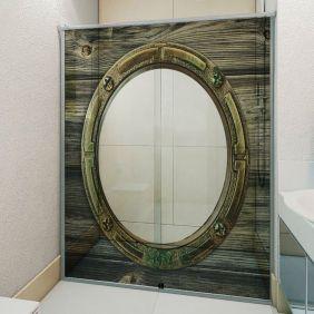 Adesivo Box Banheiro 3d Sob Medida - Mod 39