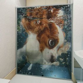Adesivo Box Banheiro 3d Sob Medida - Mod 6