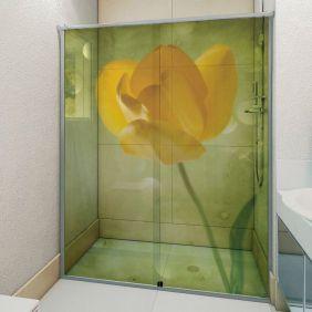 Adesivo Box Banheiro 3d Sob Medida - Mod 71