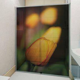 Adesivo Box Banheiro 3d Sob Medida - Mod 74