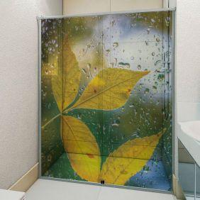 Adesivo Box Banheiro 3d Sob Medida - Mod 80